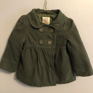 Army green dress coat